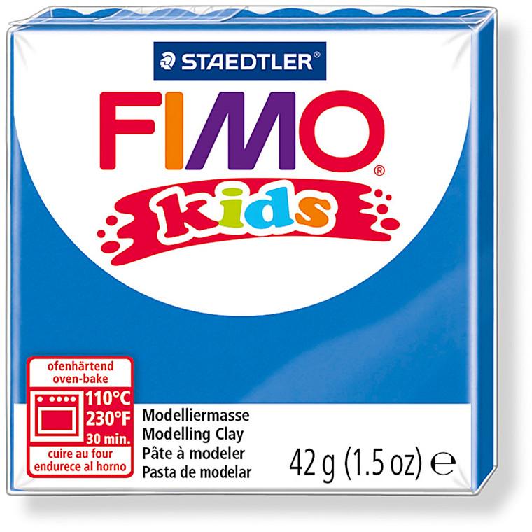 FIMO® Kids ler blå - 42 gram