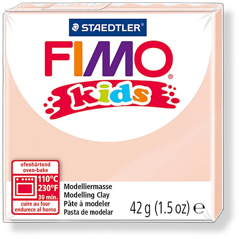 FIMO® Kids ler 42 gram - lys hudfarvet