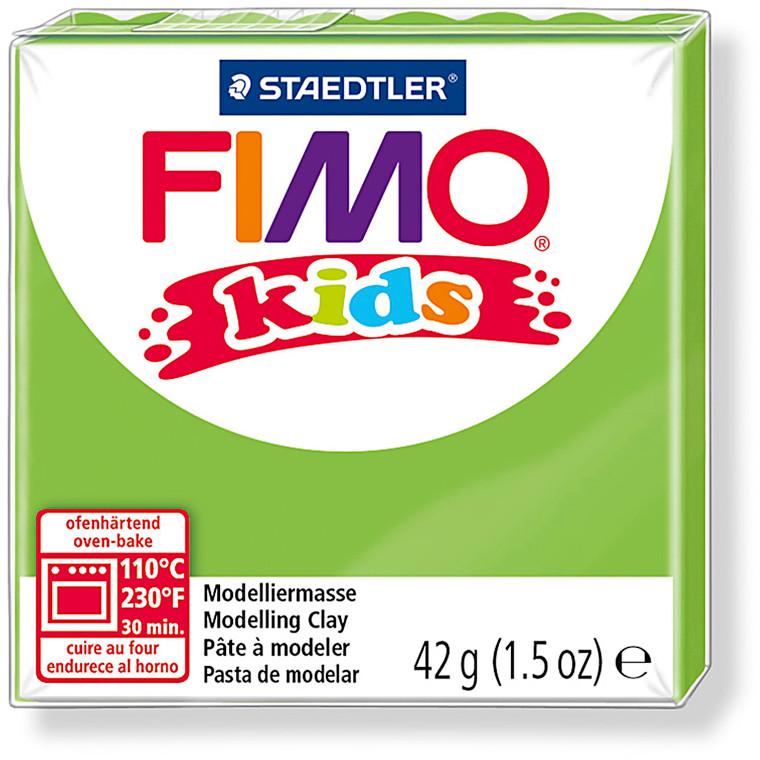 FIMO® Kids ler 42 gram - lys grøn