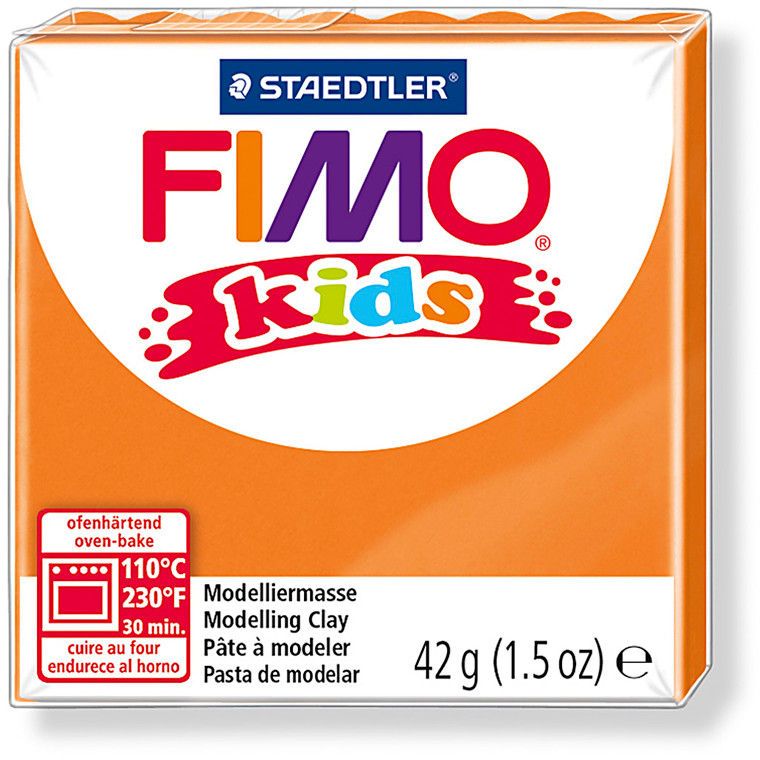 FIMO® Kids ler orange - 42 gram