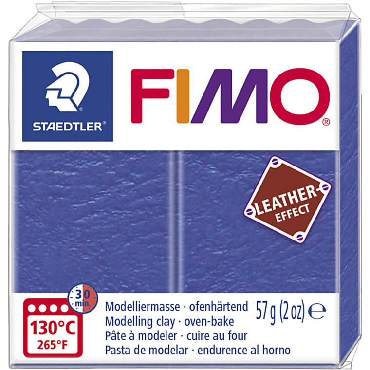 FIMO® Leather Effect , indigo (309), 57g