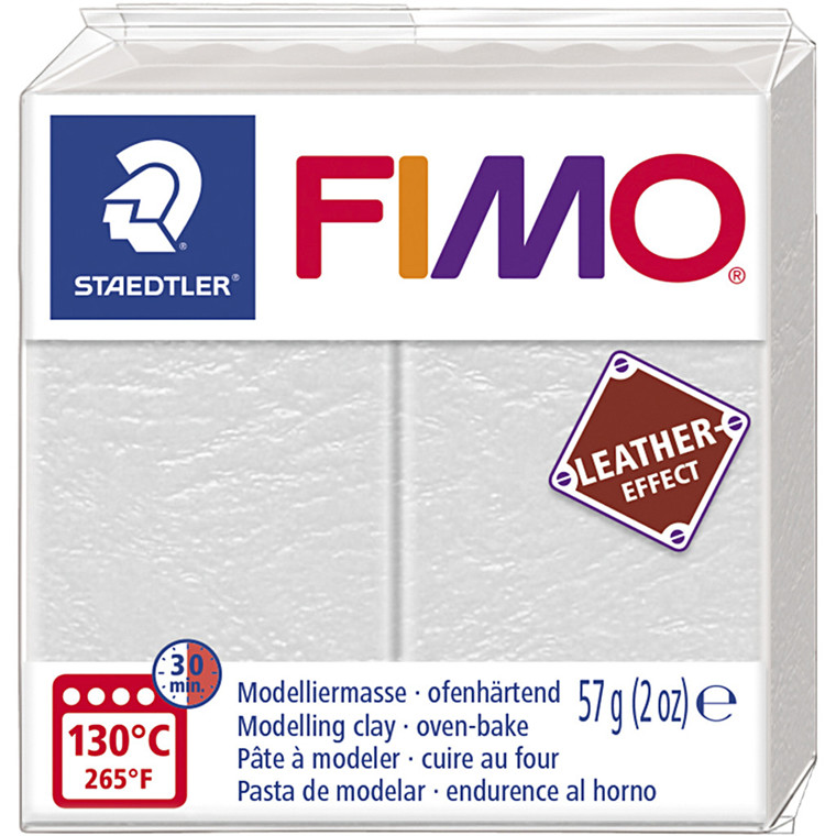 FIMO® Leather Effect , Ivory (029), 57g