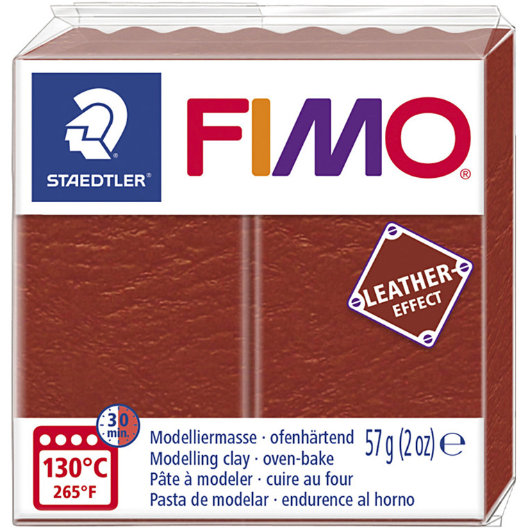 FIMO® Leather Effect , rust (749), 57g