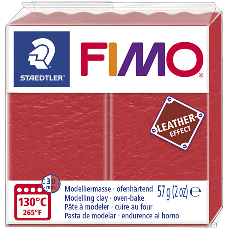 FIMO® Leather Effect , watermelon (249), 57g