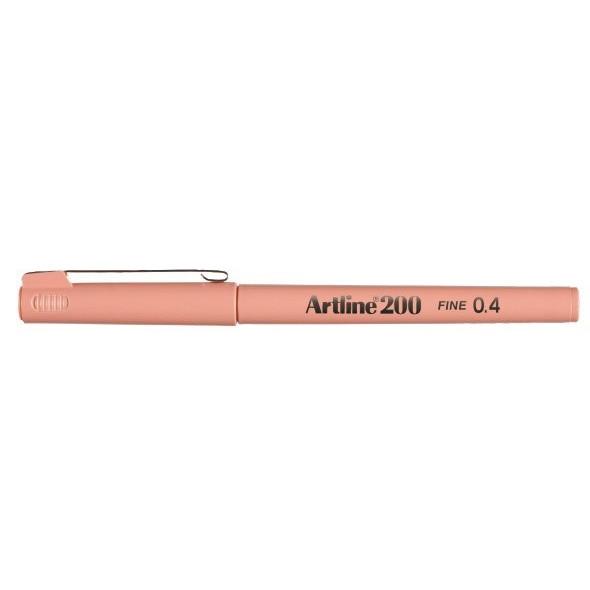 Fineliner Artline 200 Fine 0.4 aprikos