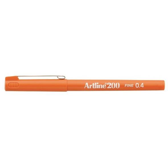Fineliner Artline 200 Fine 0.4 orange