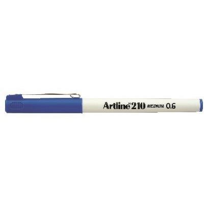 Fineliner Artline 210 M 0.6 blå