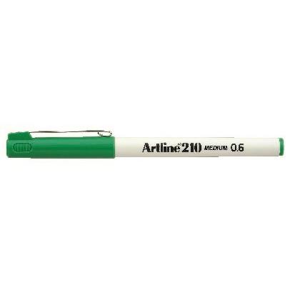 Fineliner Artline 210 M 0.6 grøn
