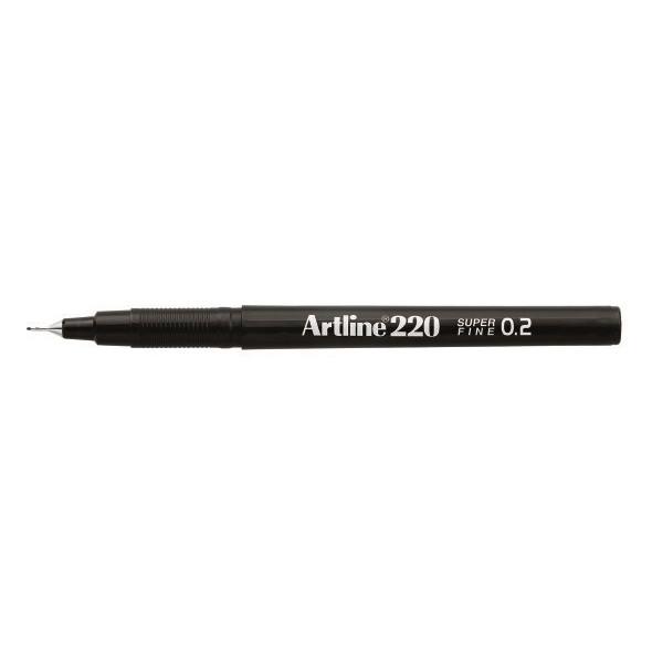 Fineliner Artline 220 SF 0.2 sort