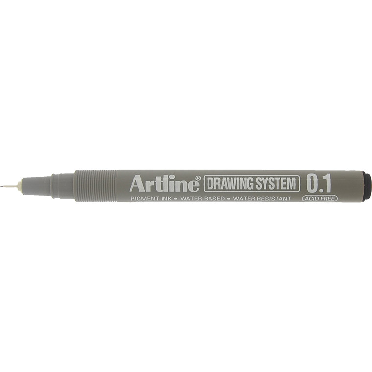 Fineliner Artline EK231 0,1mm sort