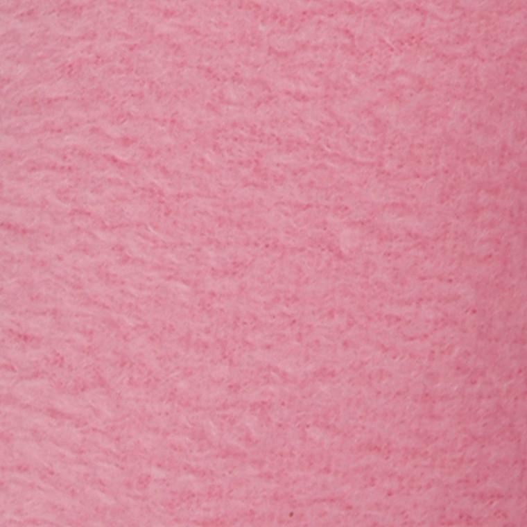 Fleece længde 125 cm bredde 150 cm lys pink   200 g/m2