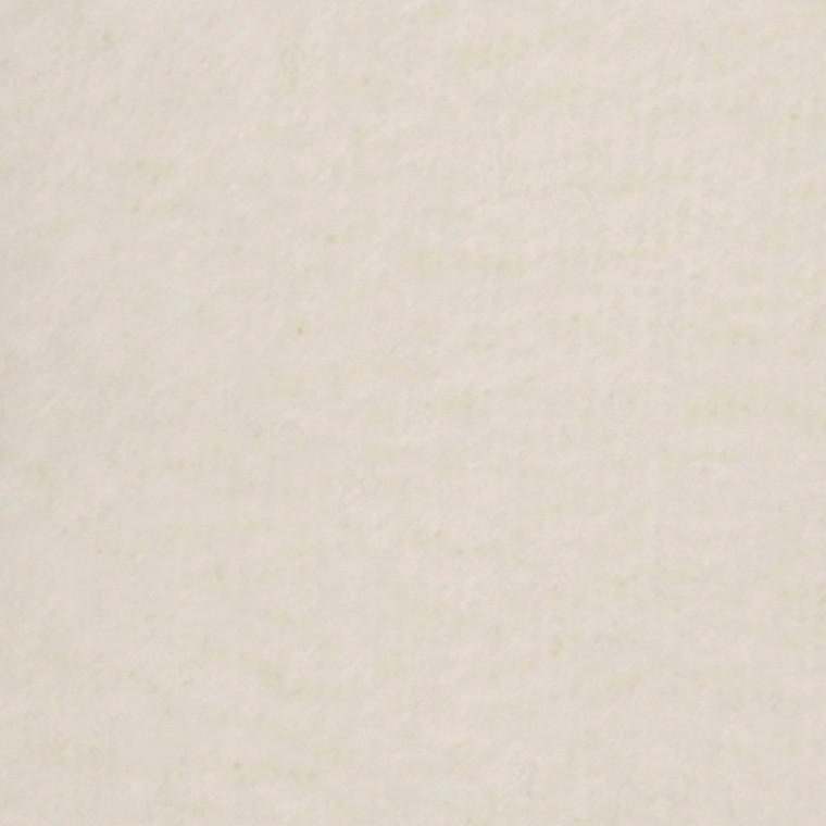Fleece længde 125 cm bredde 150 cm råhvid   200 g/m2