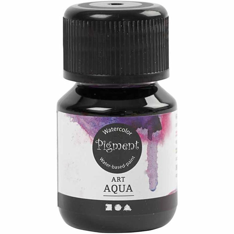 Flydende Akvarelmaling, rødviolet, 30 ml
