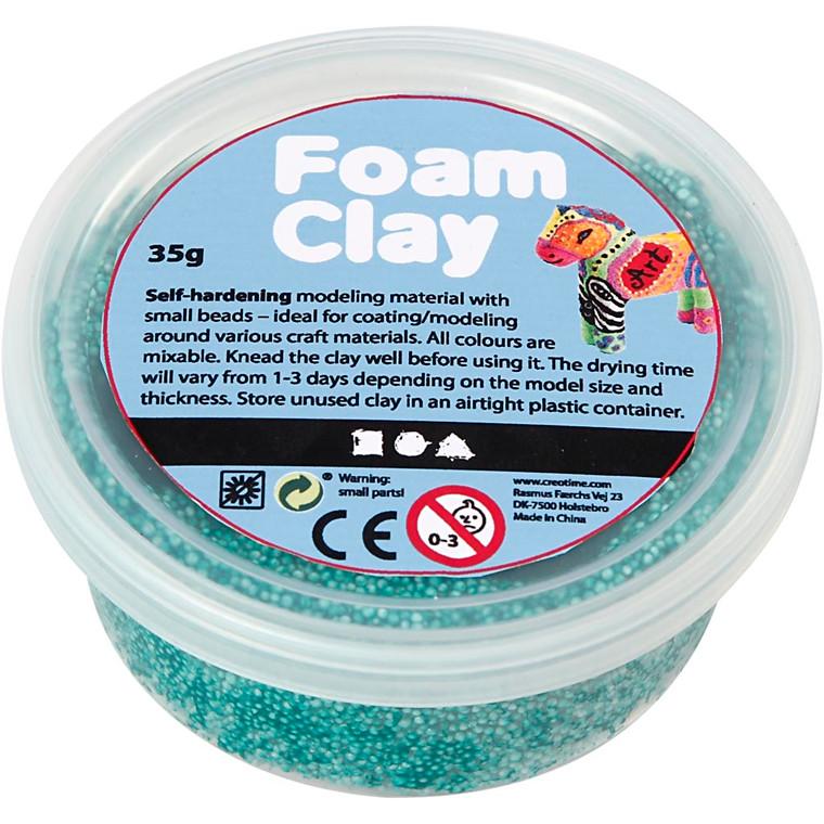 Foam Clay®, mørk grøn, 35g