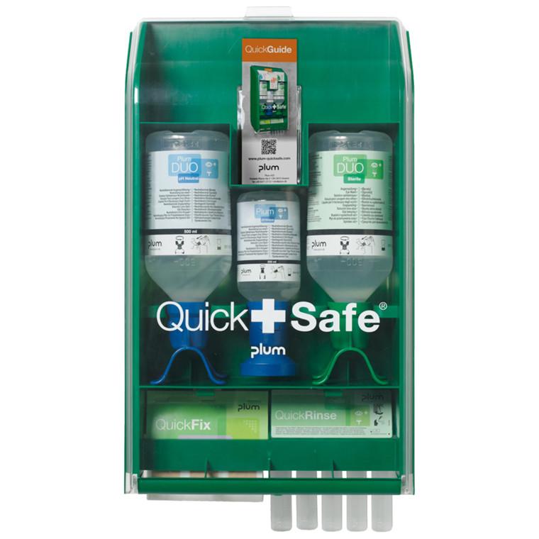 Førstehjælpsstation, QuickSafe Chemical Industry, steril