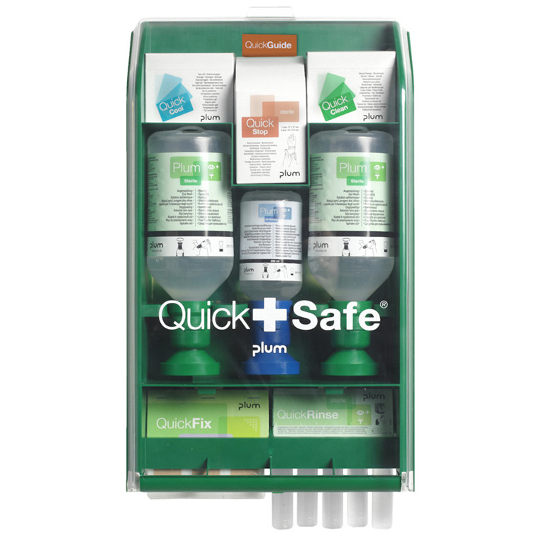 Førstehjælpsstation, QuickSafe Complete, steril