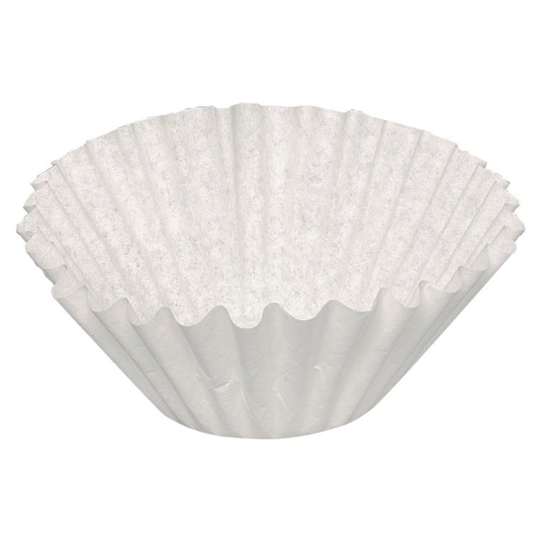Foldefilter, 1000 stk/krt (10x100 stk), hvid, 250/110,