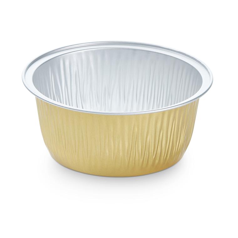 Foliebakke 290 guld 295 ml Ø 111 x 43 mm - 115 stk
