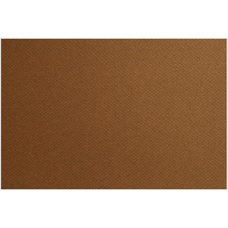 Fransk karton, ark 500x650 mm, 160 g, Tobacco, 1ark