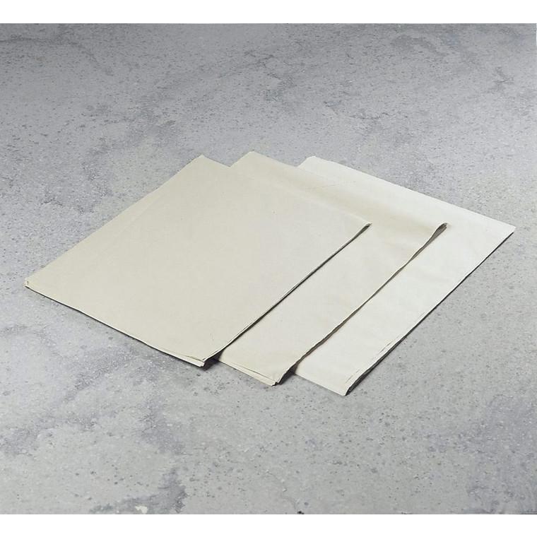 Franskbrødspapir 37,5 x 50 cm 25 gram 10 kg pr. pakke - 2130 ark