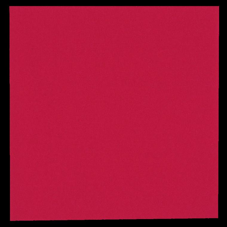 Frokostserviet, Gastro-Line, 2-lags, 1/4 fold, rød, papir, 33cm x 33cm