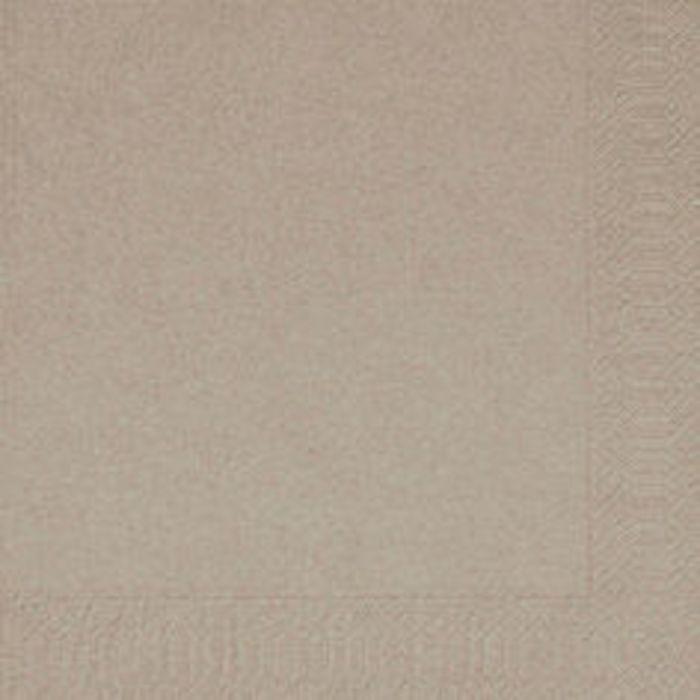 Frokostserviet, Duni, 3-lags, 1/4 fold, 33x33cm, chestnut, papir