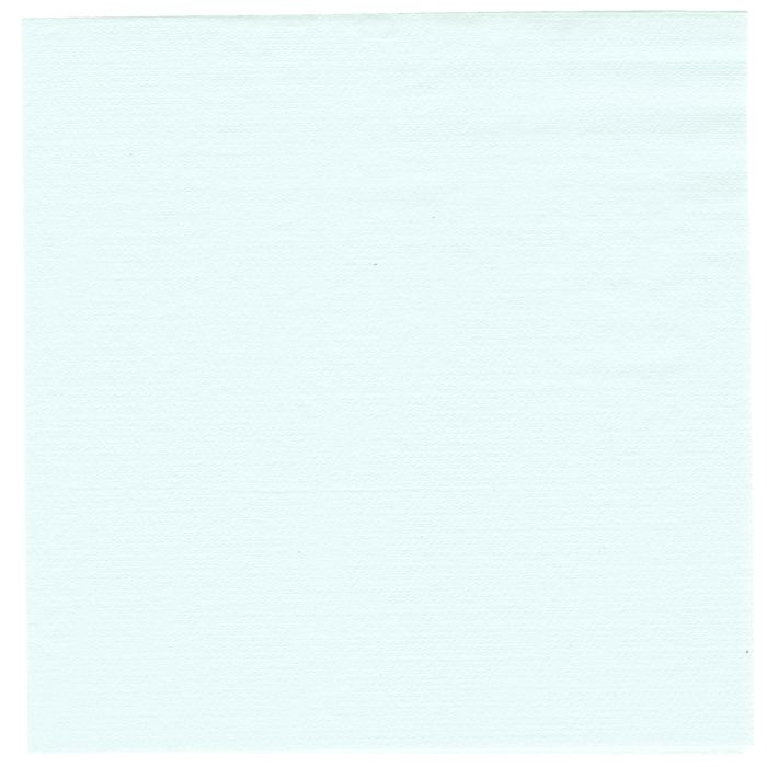 Frokostserviet, Gastro-Line, 1-lags, 1/4 fold, pastelblå, papir, 33cm x 33cm