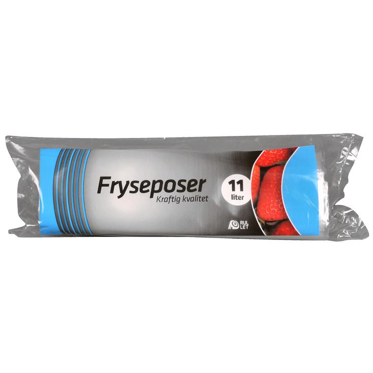 Fryseposer 290 x 540 mm 11 Liter - 100 poser pr. rulle