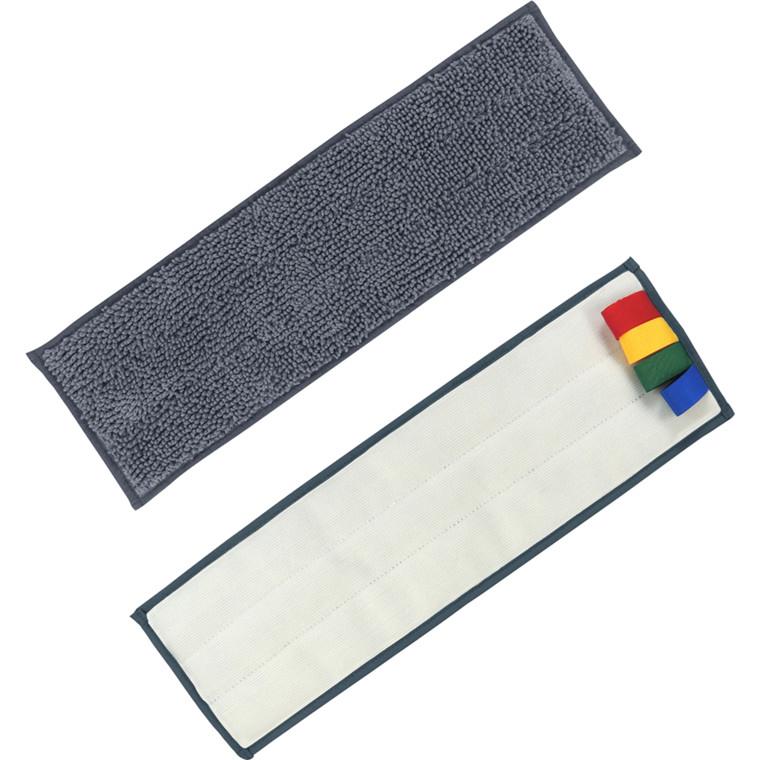Fugtmoppe, Unger erGO!, grå, mikrofiber, 40 cm, med velcro *Denne vare tages ikke retur*