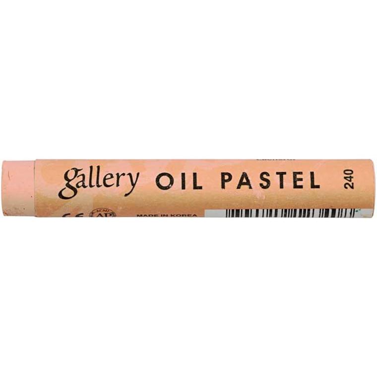 Gallery oliepastel premium, tykkelse 11 mm, laksefarvet (240), 6 stk.