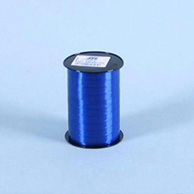 Gavebånd  - glat i blå 10 mm x 250 meter, 5 ruller i pakken, nr. 01