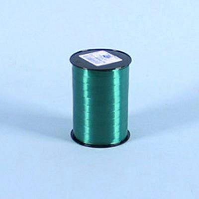 Gavebånd - i glat mørkegrøn 10 mm x 250 meter, 5 ruller i pakken, nr. 87