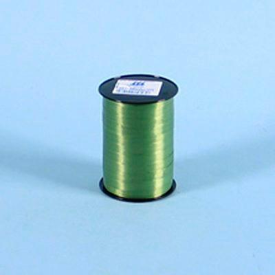 Gavebånd - glat i olivenfarve 10 mm x 225 meter, 5 ruller i pakken, nr. 03