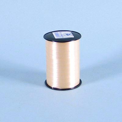 Gavebånd - i glat beige 5 mm x 500 yds 5 ruller i pakken