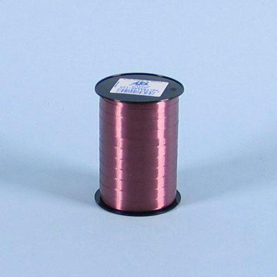 Gavebånd - i glat bordeaux nr. 52 10 mm x 250 meter, 5 ruller i en pakke