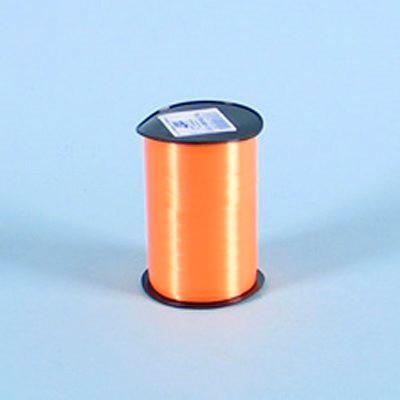 Gavebånd - i glat orange nr. 09, 10 mm x 250 meter 5 ruller i en pakke