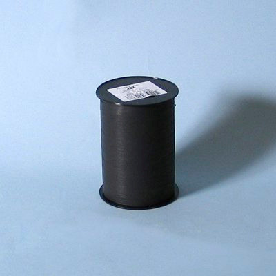 Gavebånd - i mat sort 10 mm x 250 meter, 5 ruller i pakken, nr. 23