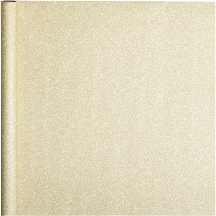 Gavepapir bredde 50 cm 80 gram guld | 3 meter