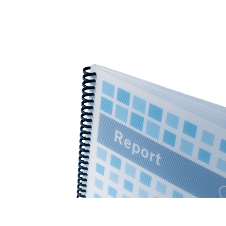 GBC binder cover PP A4 poly techno 700mic hvid (50)