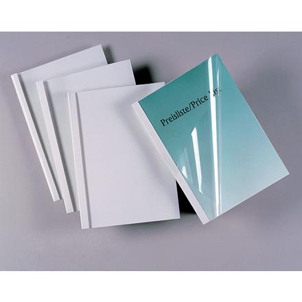 GBC Limindbindingsomslag A4 3mm white (100)