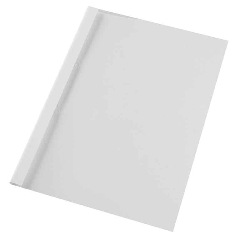 GBC Limindbindingsomslag A4 4mm white (100)