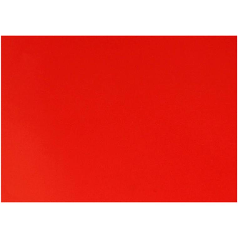 Glanspapir rød størrelse 32 x 48 cm 80 gram - 25 ark