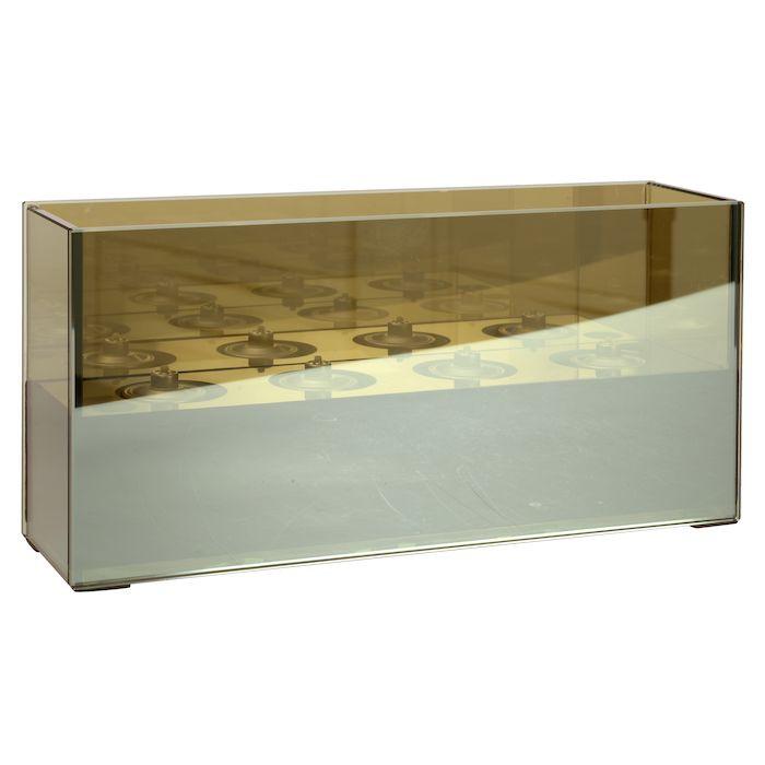 Glas stage, Eternity, til olielamper, lav, H13 cm