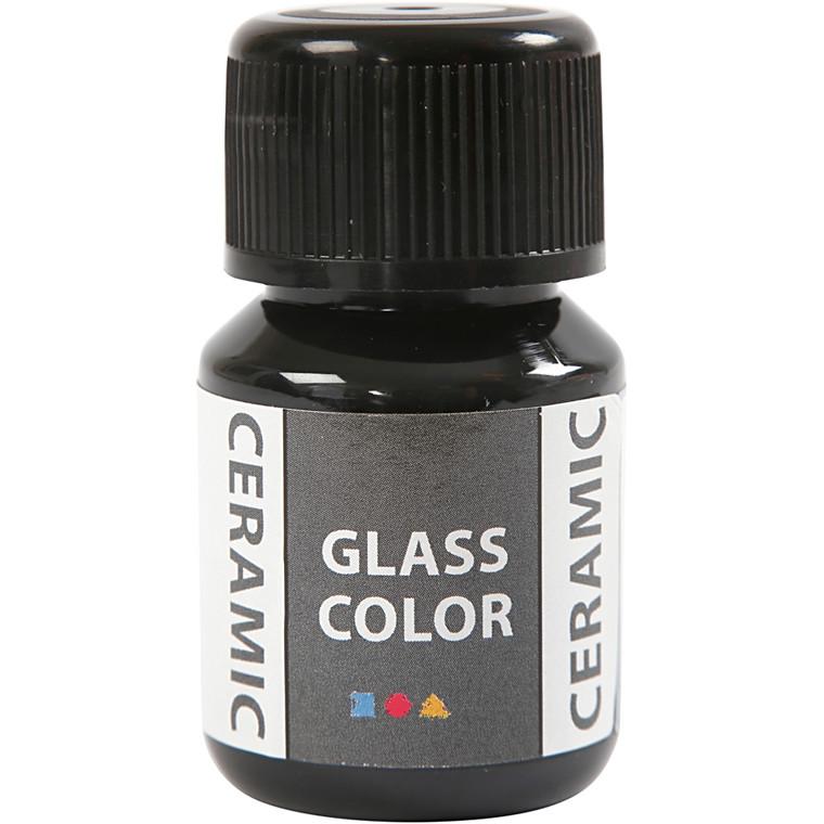 Glass Ceramic, sort, 35ml