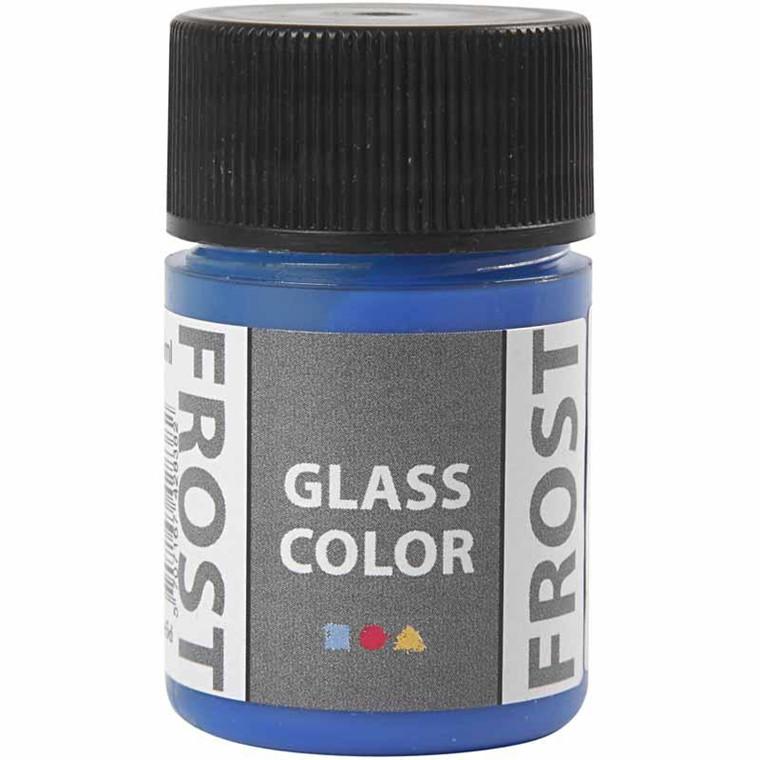 Glass Color Frost, blå, 35ml