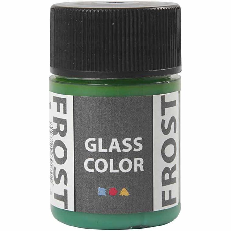 Glass Color Frost, grøn, 35ml