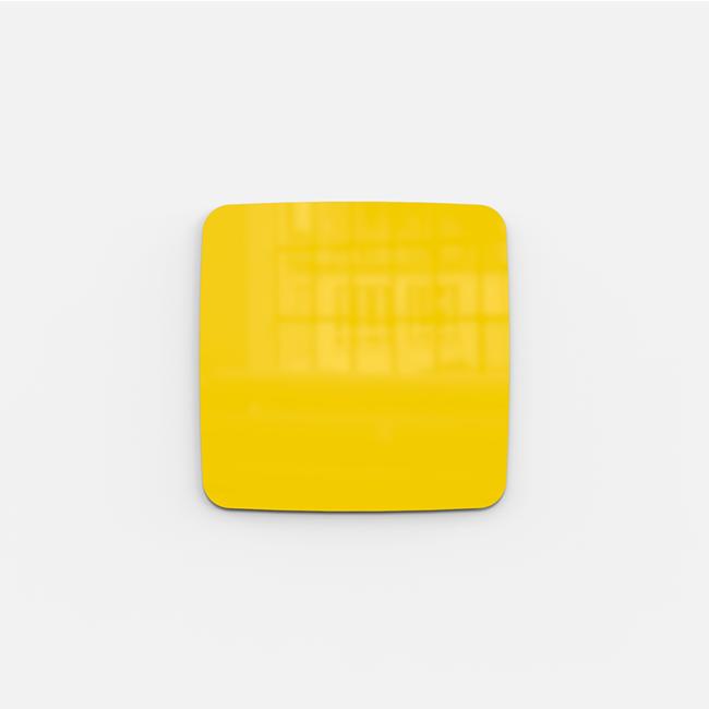 Glastavle - Lintex Mood Flow 30 x 30 cm - Happy