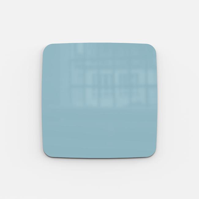 Glastavle - Lintex Mood Flow 50 x 50 cm - Calm