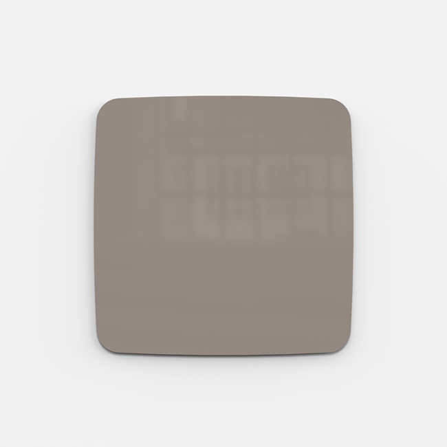 Glastavle - Lintex Mood Flow 50 x 50 cm - Cozy
