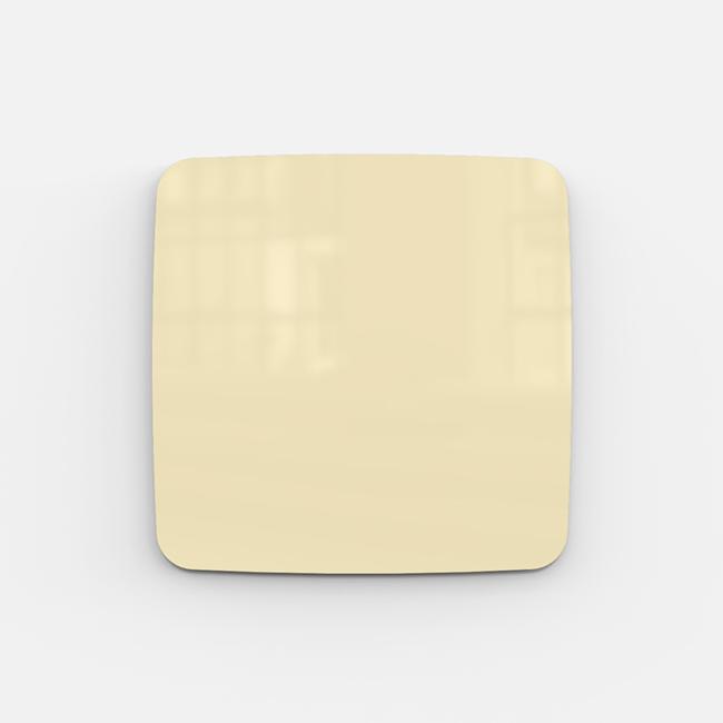 Glastavle - Lintex Mood Flow 50 x 50 cm - Mellow